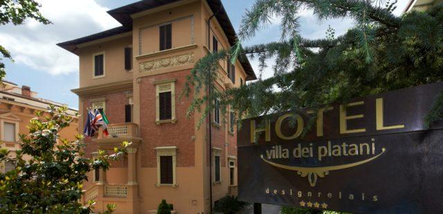La storia dell\'hotel Spa stile Liberty | Villa dei Platani